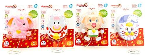 Globo Toys 5126 Vitamina _ G 4 Assortis Essaye-Moi Carillon Jouet
