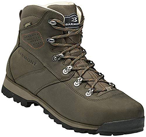 GARMONT PORDOI NUBUCK GTX Chaussures de trekking vert / orange olive poign'e