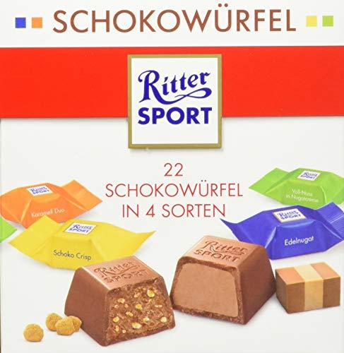 Ritter SPORT Ritter Sport Schokowürfel Bunter Mix, 4er Pack (4 x )