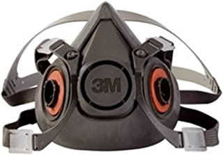 3M Half Face Piece, Reusable Respirator, Large Mask - 6300/07026