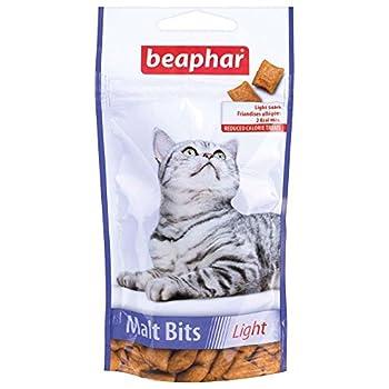 Beaphar - Friandises allégées Anti Boules de Poils au malt - chat - 35 g