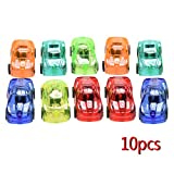 Simplelife Pull Back Cars,Cars Set of 10 Cute Toy Cars For Child Kids Educational Gift