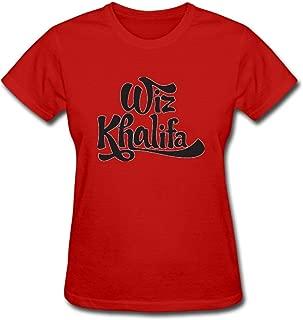 Duanfu wiz Khalifa Women's Cotton Short Sleeve T-Shirt