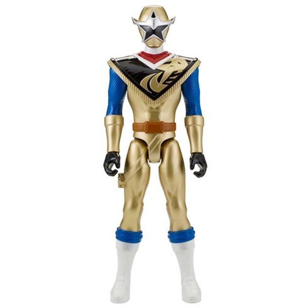 Power Rangers 43940 Gold Power Up Lion Fire Armour Figure