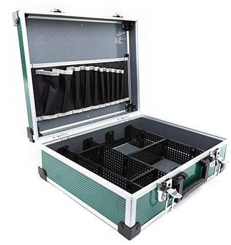 TrendLine Werkzeugkoffer mit Alu-Rahmen Alukoffer 39,5 x 30 x 13 cm