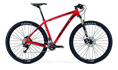 Merida Big.Nine XT 29 inch mountainbike rood (2016), 38