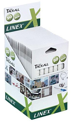 Linex 400098267 Tackle All Lot de 25 paquets de 80 élastiques 25 x 80
