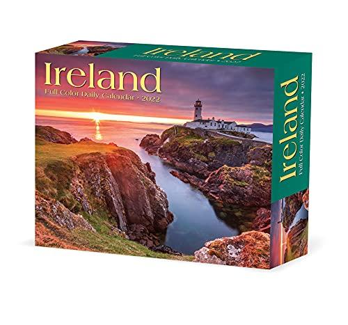 Ireland 2022 Box Calendar, Travel Daily Desktop