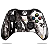 MightySkins Skin Compatible with Microsoft Xbox One or One S Controller - Artic Camo | Protective, Durable, and Unique Vinyl wrap Cover | Easy to Apply, Remove, and Change Styles | Made in The USA