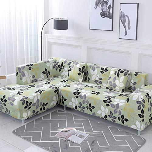 Funda de sofá nórdica, Juego de algodón, Funda de sofá, Funda de sofá elástica para Sala de Estar, sofá Chaise Longue en Forma de L, sofá A11 de 4 plazas