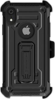 Ghostek Iron Armor2 Military Grade Case with Holster Belt Clip Designed for iPhone XR – Black