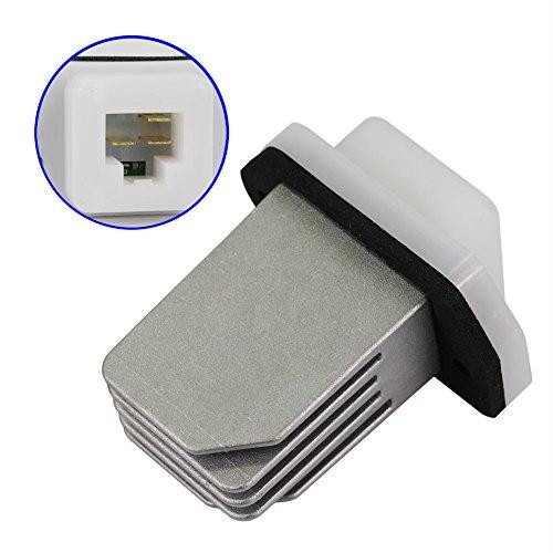 DOICOO HVAC Blower Module Resistor 27761-4BA0A for Nissan Nv1500 Nv2500 Rogue Sentra Fit 277614BA0A, 277613SB0A 2776170T02 2776170T03 973-581 RU700 RU788