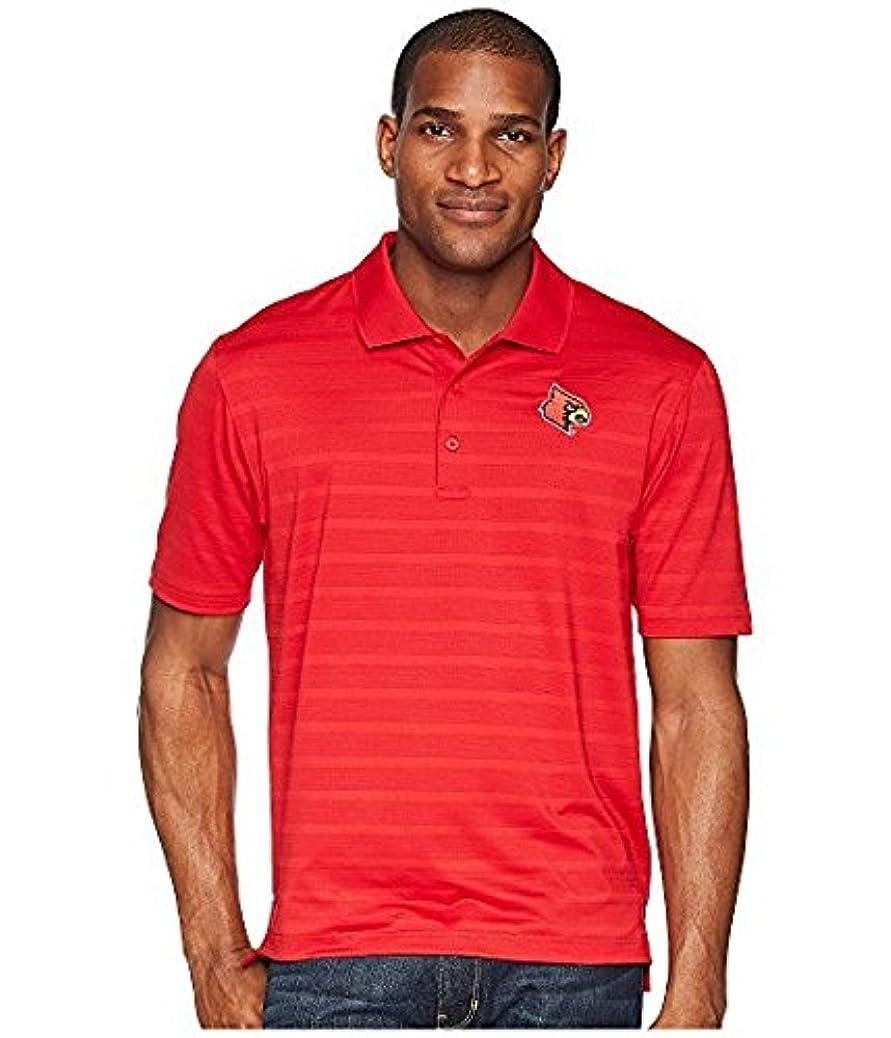 腐敗見る恐れるチャンピオンカレッジ Champion College メンズ トップス シャツ ブラウス Scarlet Louisville Cardinals Textured Solid Polo [並行輸入品]