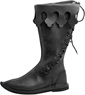 2019 New Men's Classic Boots Halloween Day Cosplay Mid Tube Boots Shaft Shoes 🍀 HebeTop 🍀