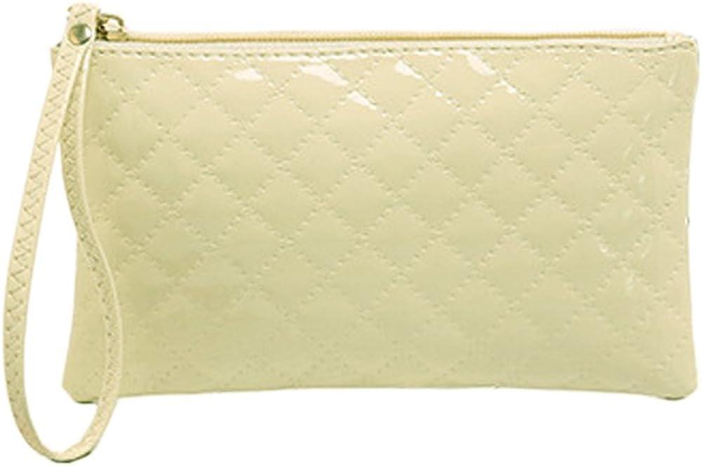 Sunyou Women's Fashion Leather Wristlet Card Cell Phone Handbag