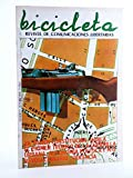 BICICLETA. REVISTA DE COMUNICACIONES LIBERTARIAS 9. Barcelona