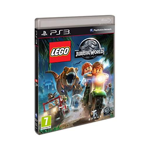 Warner Bros Lego Jurassic World, PS3 Básico PlayStation 3 Inglés, Italiano vídeo - Juego (PS3, PlayStation 3, Aventura, Modo multijugador, E10 + (Everyone 10 +), Soporte físico)