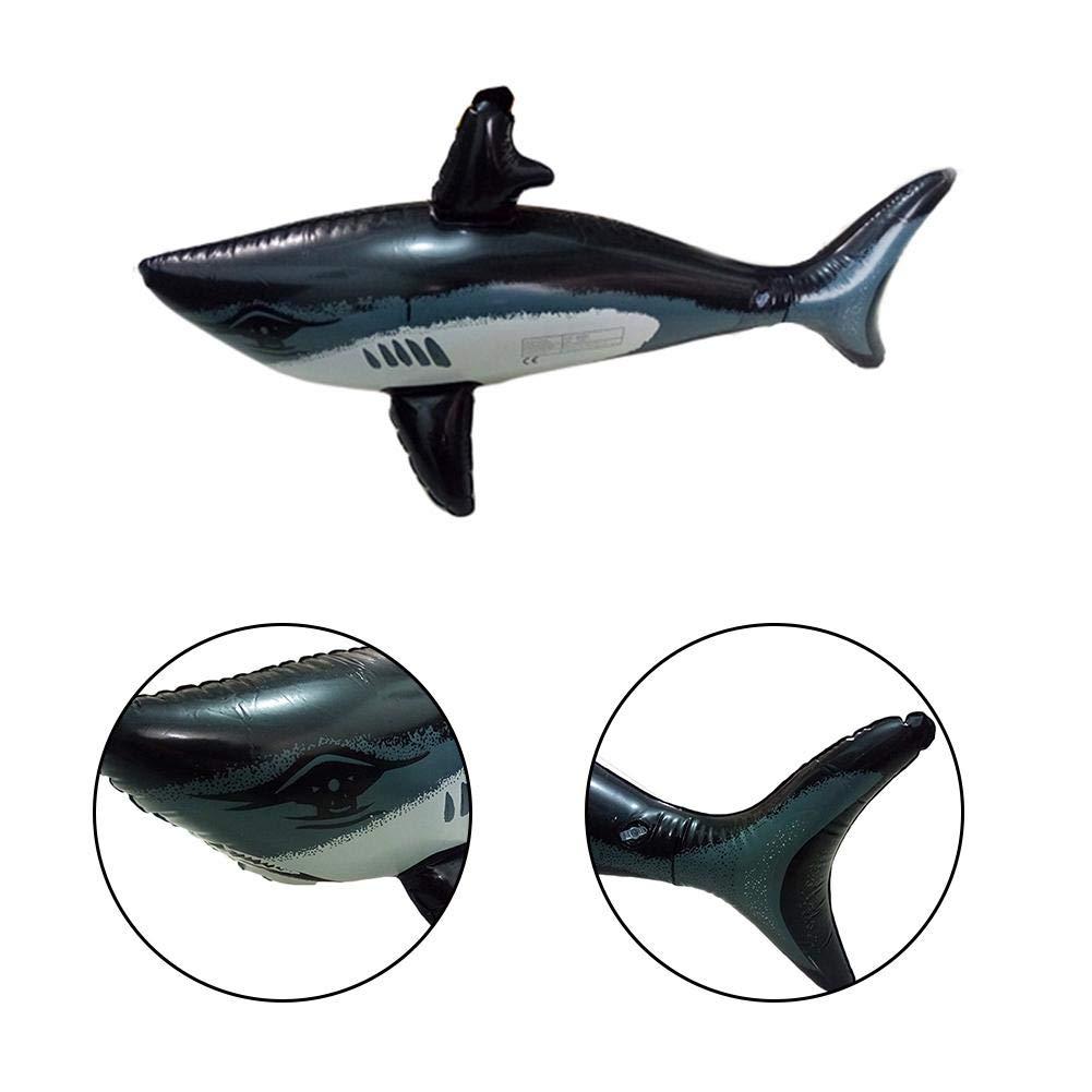 Adminitto88 - Juguete Hinchable de Tiburones con radios de Piscina ...