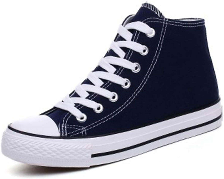 Gusha Fashion Women's high-top Canvas shoes Sneakers Walking shoes