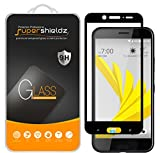 (2 Pack) Supershieldz for HTC (10 EVO) Tempered Glass Screen Protector, (Full Screen Coverage) Anti Scratch, Bubble Free (Black)