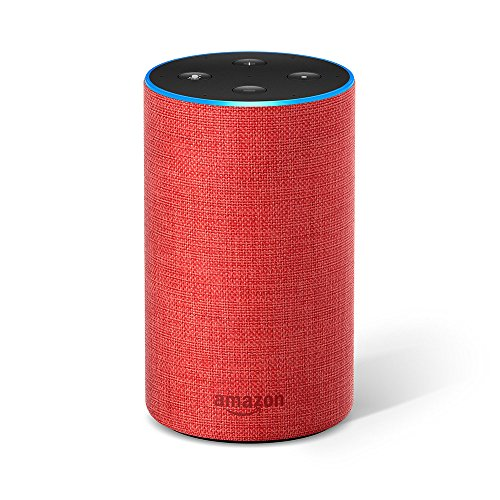 Echo (2nd Generation) - Smart speaker with Alexa, (RED) edition