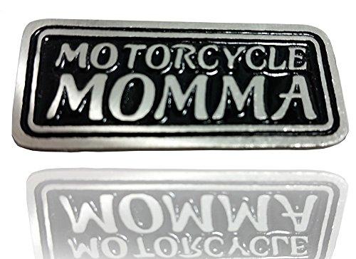 Daywalker Bikestuff Motorcycle Momma Bikerin PIN Zinn Mutter Mama Chopper Free-Bikerin Needle Badge