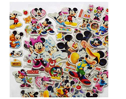 votgl Mooie Muis Stickers Afmeting 3D Cartoon PVC Bubble Stickers Meisjes/Jongens Verjaardag Kinderspeelgoed Willekeurig