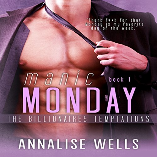 Manic Monday audiobook cover art