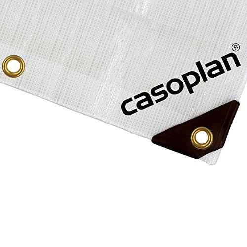 Casoplan Abdeckplane Plane Bootsplane 300g extrem reißfest und wasserdicht (6x12m)