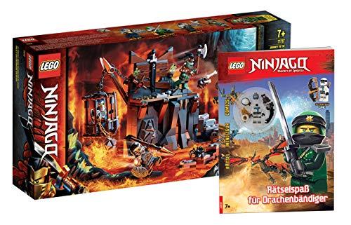 Collectix Lego Ninjago 71717 - Juego de mesa de aprendizaje con diseño...