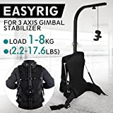 VEVOR Easy Rig Stabilizer Vest Professional Camera Video Film Support System for 3 Axis Stabilized Handheld Gimbal Backpack Body Pod Steadycam Stabilizer up to 8kg/17.6lb