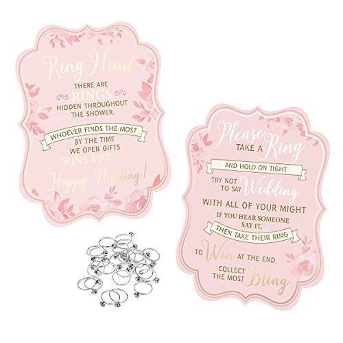 Lillian Rose Bridal Shower Game (25 Rings)