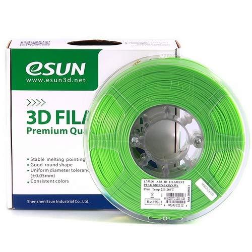 eSUN 3d stampante filamento ABS 3,00mm 1kg Verde Chiaro