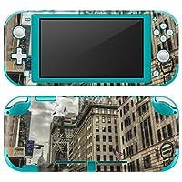 igsticker Nintendo Switch Lite 専用 デザインスキンシール 全面 任天堂 スイッチ ライト 専用 ゲーム機 カバー アクセサリー フィルム ステッカー エアフリー 005933 写真・風景 写真 建物 空 [video game] [video game]