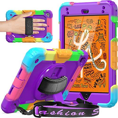 SEYMCY Shockproof Case for iPad Mini 5, iPad Mini 4 Kids Case 360 Rotatable...