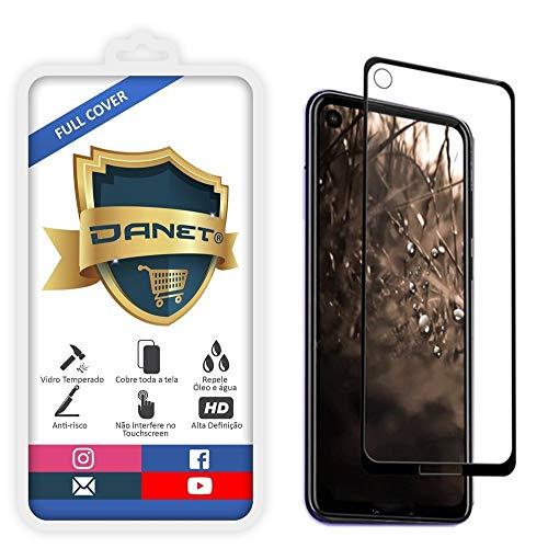 """Película De Vidro Temperado 3D Full Cover Para Motorola Moto One Vision Com Tela De 6.3"""" - Proteção Blindada Top Premium Que Cobre Toda A Tela - Danet"""