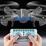 Cewaal Drone pliable Wifi avec 720p HD Camrea vidéo en direct, jouets Quadcopter...