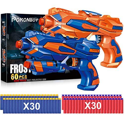 POKONBOY 2 Pack Blaster Guns Toy Guns for Boys...