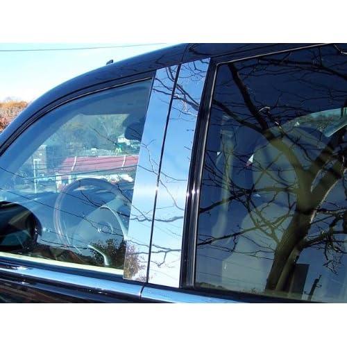 QAA fits 2007-2014 Cadillac Escalade 4 Piece Stainless Pillar Post Trim PP47255
