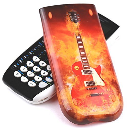 Guerrilla Hard Slide Case-Cover for TI-84 Plus, TI 84-Plus C Silver Edition, TI-89 Titanium Graphing Calculator, Guitar Photo #9
