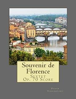 Souvenir de Florence: Sextet Op. 70 Score
