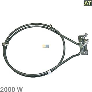 Horno Elemento de calefacción 2000W para Electrolux 357042405, Zanker, Privileg 01006480, 7164r481
