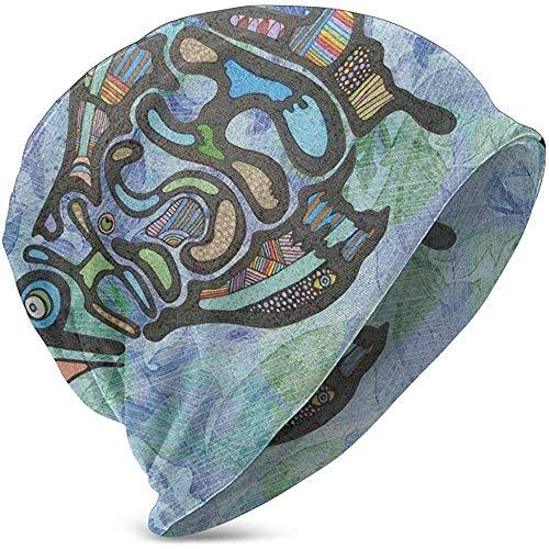 Phish Fish Rock Musique Logo Kid 'S Bonnet en Tricot Unisexe Enfants Tricot Bonnet Chapeau Haute Élasticité Lavable Hiver Hiver Chapeaux pour Garder La Tête Au Chaud