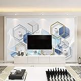 Kunst Hintergrundbild Kunst Hintergrund Schlafzimmer Wohnzimmer geometrische nahtlose Wandverkleidung fototapete 3d Tapete effekt Vlies wandbild Schlafzimmer-350cm×256cm