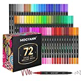 Best Coloring Brush Pen Sets - Mogyann 72 Colors Art Markers for Adult Coloring Review