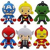 CYSJ Cake Topper Conjunto de 6 Personajes de Figura de acción Juguetes Modelo muñecas Decoraciones de Pastel,Mini Juego de Figuras Niños Mini Fiesta de cumpleaños Pastel Decoración Suministros