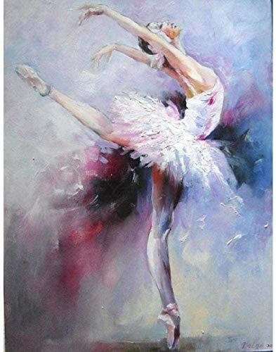XINTONG Experiencia de Bricolaje para niños 1000 Piezas Desafío de Bailarina de Ballet Paciencia Rompecabezas Ejercicio Amistad Ocasión Regalo