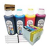 Fink 603XL - Kit di ricambio per stampanti Epson 603 o 603XL, compatibile con Expression Home XP-3100 XP-2105 XP-4100 XP-2100 XP-3105 XP-4105 WF-2810 WF-2830 WF-2835 WF-2850