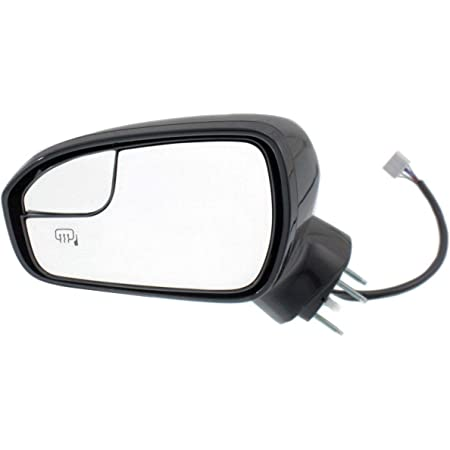 MaxMate Fit 2013-2016 Ford Fusion Chrome Top Half Mirror Cover with Turning Light