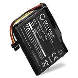 CELLONIC Batería de Repuesto VFA VF6D AHA11111003 AHA11111006 Compatible con Tomtom GO 5000 / Via 1605 / Start 60, Start 60 (4EN62), 1020mAh Accu GPS Pila sustitución Battery